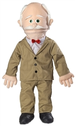 SP1101 - Grandpa Professional Puppet (Peach)