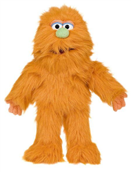 Sp3005D - Orange Monster Glove Puppet