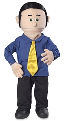 SP1301 - Dad Professional Puppet - George (Peach)