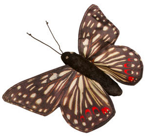 FG7242 - Butterfly / Anicia Checkerspot - Finger Puppet