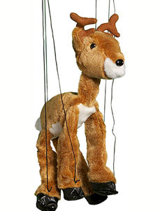 WB398 - Elk plush Marionette by Sunny
