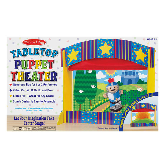MD2536 - Table Top Puppet Theater