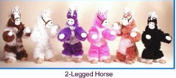 H001 - Horse Yarn Marionette