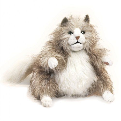 2566 - Fluffy Cat Puppet