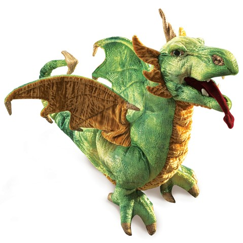 2812 - Wyvern Dragon Puppet (Special Order Only takes 14 Days to Ship)