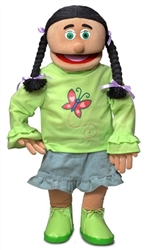 SP1861C - Girl (Jasmine) Professional Puppet (Hispanic)