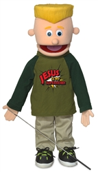 SP2601R - Eddie/Jesus is my Superhero Fullbody Silly Puppet