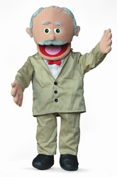 SP1101C - Hispanic Grandpa Professional Puppet (Pops)