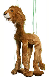 WB959 - Sunny Large Lion Marionette