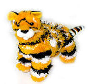 126-4L - Yellow Tiger Marionette - 4 Legged