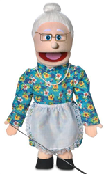 SP2201 - Fullbody Puppet Grandma