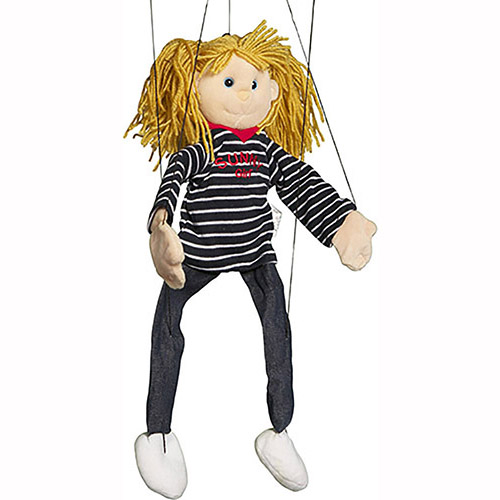WB1621 - Sunny Girl with Yellow Hair Marionette