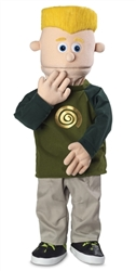 SP1601 - Boy Pro Puppet Eddie (Blonde/Peach)