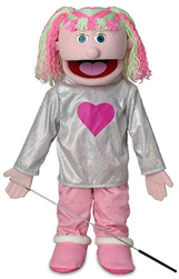 SP1591D - Kimmie - Girl Professional Puppet (Pink)