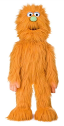 Sp2005D - Orange Monster Puppet 30