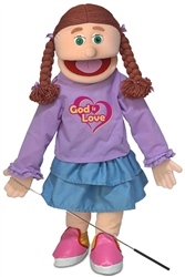SP2801R - Amy / God is Love Full-body Silly Puppet