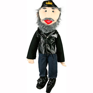 GS2813 - Biker Puppet with beard