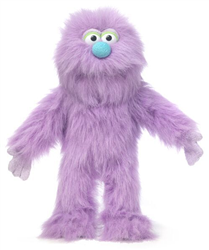 SP3005B - Purple Monster Glove Puppet