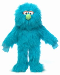 SP3005A - Blue Monster Glove Puppet