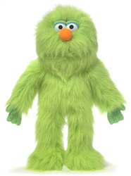 SP3005C - Green Monster Glove Puppet
