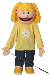 SP1521 - Katie - Girl Professional Puppet (Peach)