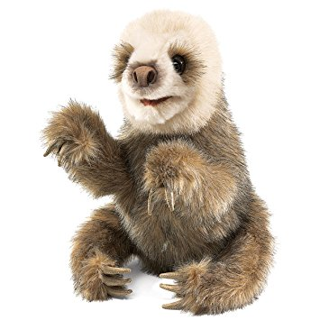 2927 - Baby Sloth Hand Puppet