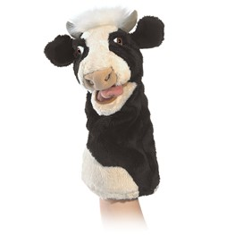 3088 - Folkmanis Moo Cow Stage Puppet