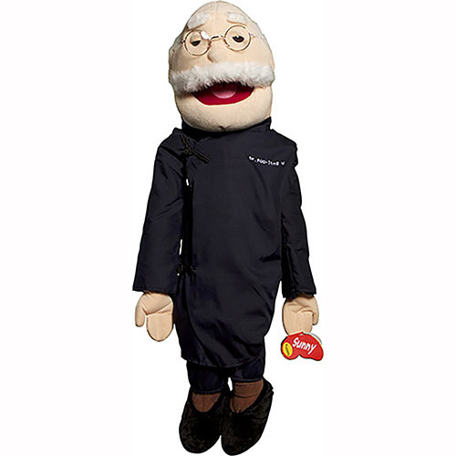 GS4110 - Asian Dr Foo-ling U Grandpa Puppet