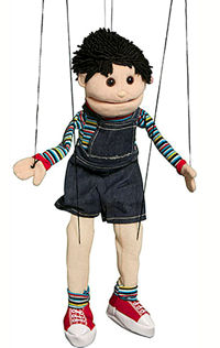 WB1562 - Hispanic Boy Marionette