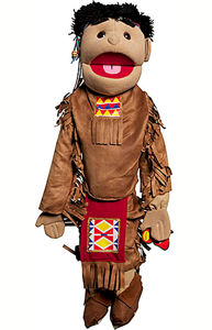 GS4586 - American Indian Boy in Brown