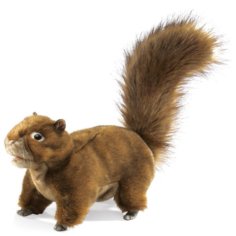 2880 - Red Squirrel Hand Puppet
