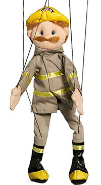 WB1301 - Dad/Fireman Marionette