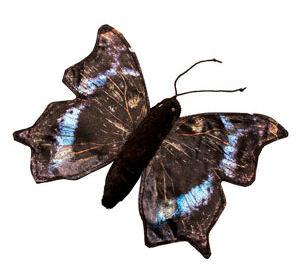 FG7243 - Butterfly / Mourning Cloak - Finger Puppet
