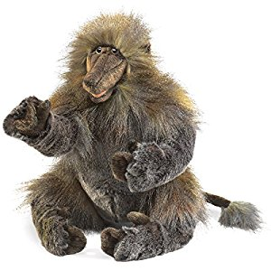 2914 - Folkmanis Baboon Hand Puppet