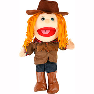 GL3542 - Cowgirl Puppet