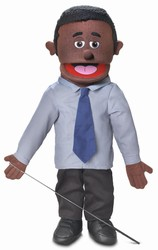 SP2301B - Fullbody Puppet Dad Calvin (African)
