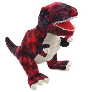 PC002906 - Baby T-Rex Puppet (Red)