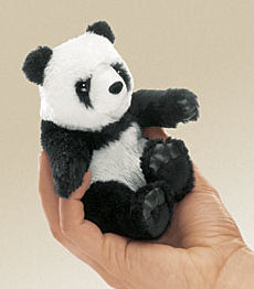 2694 - Mini Panda Puppet (Low Stock)