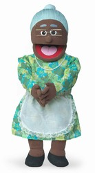 SP1201B - African Grandma Professional Puppet