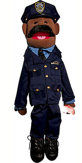 GS4408B - Ethnic Dad Police Officer