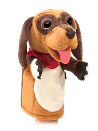 3100 - Folkmanis Dog Stage Puppet