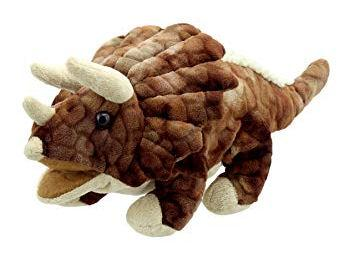 PC002903 - Baby Triceratops Puppet (Brown)