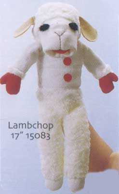 Lambchop Puppets fullbody and finger puppets. Puppetville your puppet shop: Animal Puppets, Character puppets, Finger puppets, marionettes for the puppet collector and kids of all ages.
